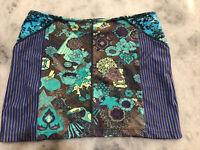 Maaji Swimwear Royal Riders 2015 Cover Up Skirt (212APX) ~NWT~ Small