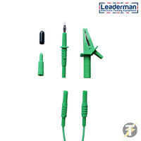LDM006 Green Test Lead Set for Martindale HPAT500 & HPAT600 PAT Testers