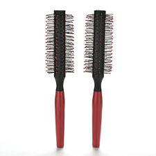 Peine de curling del cepillo del cuidado del cabello de las mujeres redondas