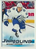 2019-20 Upper Deck Update Young Guns Rookie 524 Mitchell Stephens Tampa Bay