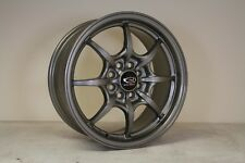 "1x Rota Circuit 8 15"" alloy Mx5 VW POLO GOLF LUPO Colt CIVIC MR2 Toyota 4x100"