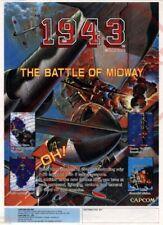 CAPCOM 1943 Wall Poster 24 x 36 inch Vintage Retro Promo Video Game 001
