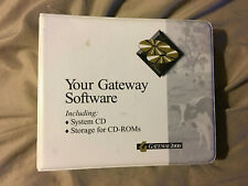 Gateway 2000 Vintage Software Book w/ Software CD - Office 97 & Other