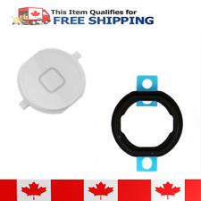 iPod Touch 4 White Home Button With Rubber Gasket