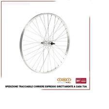 Ruota Posteriore MTB 29 Nero Cerchio in Alluminio a Filetto Con Dado Bicicletta