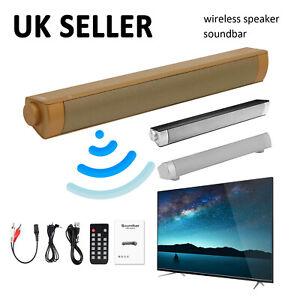 TV Home Theater Soundbar Bluetooth Sound Bar Speaker System Subwoofer / Remote