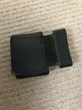 Ex Police Black Leather Belt Buckle Protector. 653.