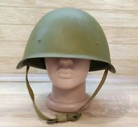 Original Russian Military Soviet Army WWII SSh40 type Steel Helmet used number