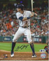 Kyle Tucker Autographed Houston Astros 8x10 Photo Beckett Authentication #2