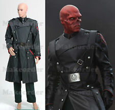 Captain America Red Skull Complete Outfit Uniform Costume Cosplay *Custom Made*