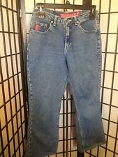 No Excuses Size 11/12 Blue Flare Leg Sexy Tough Dungarees Quality Jeans