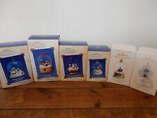 Hallmark Keepsake Ornaments Winter Wonderland Series 2002-2007. 6 Ornaments.