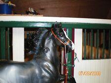 Jaapi Simple ORANGE Arabian Show Halter - fits Breyer/Stone model horses