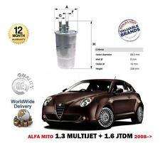 FOR ALFA ROMEO MITO 1.3 MULTIJET 1.6 JTDM 2008-> NEW 1 X DIESEL FUEL FILTER