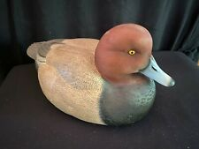 Redhead Duck Decoy by George Kruth Danbury Mint