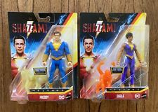 Freddy & Darla Mattel Shazam Action Figures Lot New DC Comics Power Slingers