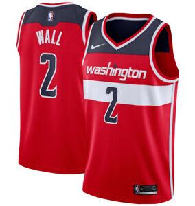 Nike John Wall Washington Wizards Red Swingman Jersey Icon Edition Mens Size 2XL