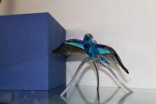 """SWAROVSKI Crystal """"BLUE TURQUOISE ROLLER"""" #957568 MINT - SIGNED"""