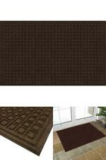 36x60 in Large Brown Recycled Rubber Commercial Door Mat Outdoor Entry Rug Patio