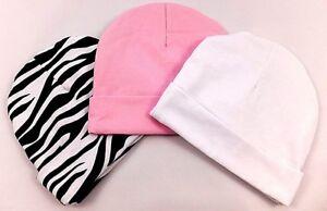GORGEOUS NEWBORN BABY HATS (100% COTTON)