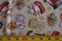 "32"" Long, Bazoople Pirates Shipmates on Tan Quilt Fabric/Spring Creative N4091"