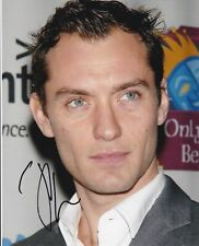 Jude Law Signed 10 X 8 Autograph Photo - Sherlock Holmes - The Holiday