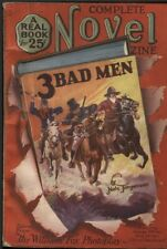 Complete Novel 1926 October #18. Three Bad Men adapted photoplay  Pulp