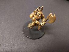 D&D Dungeons & Dragons Miniatures Night Below Brass Golem #2