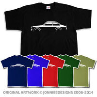 RETRO FORD ESCORT MK2 RS RALLY INSPIRED T-SHIRT - CHOOSE YOUR COLOUR (S-XXXL)