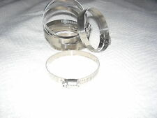 """10 Breeze Stainless Steel Hose Clamps SAE 32 1 15/16"""" - 2 1/2"""" 49 - 64 mm Auto"""