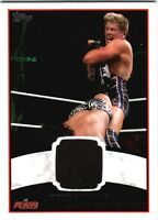 WWE Jack Swagger 2012 Topps Authentic Event Worn Shirt Relic Card Black DWC