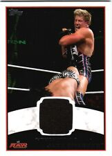 WWE Jack Swagger 2012 Topps Authentic Event Worn Shirt Relic Card Black DWC2