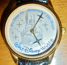 Collectible 25th Anniversary Disney Watch Made for Eastman Kodak Company, 1997