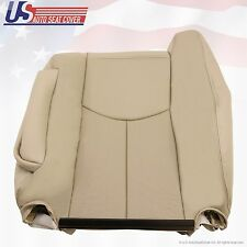2003 2004 2005 2006 Cadillac Escalade Driver Lean Back Leather Cover Color Tan