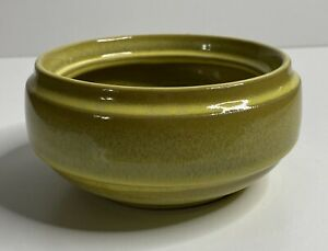 Signed Robert Maxwell Green Pottery Bowl Planter