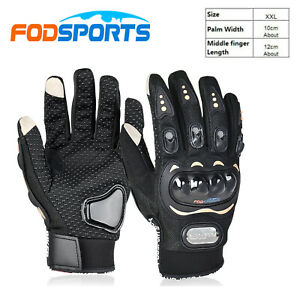 Motorcycle Outdoor Enduro Cycling Riding Gloves Touch Screen Protective Size XXL