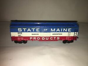 Fleischmann Vintage State of Maine B & A #1427 Litho Metal Sides Op Doors Cplrs.
