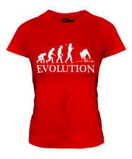ARCHAEOLOGIST EVOLUTION LADIES T-SHIRT TEE TOP GIFT ARCHAEOLOGY DINOSAUR