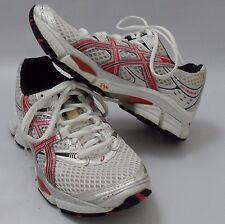Women's Asics Gel Cumulus 11 Running Shoes White Red Size 5