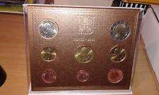 Divisionale Euro Vaticano 2011 . 8 monete Papa Benedetto XVI