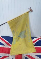 More details for rare antique vintage old bromley scouts wolf cubs  british union jack flag