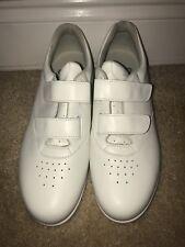 SAS White Tennis Shoes Size 9B Tripad Comfort Hook & Loop Fasteners