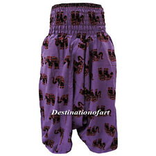 Gypsy Hippie Aladdin Baggy Indian Harem Pants Women Trousers Boho Yoga TH7485545