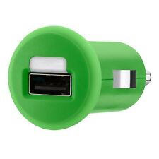 Belkin 1A USB Micro Car Charger - Green