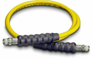 Yellow Enerpac Hydraulic Hose H7206