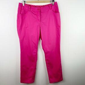 Nike Golf Tour Performance Dri-Fit Womens Size 12 Pink Pants