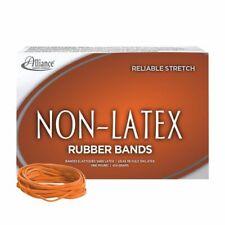 "Rubber Bands, Latex-free,3-1/2""x1/ 8""No.33,Orange,Appr.7 20/Bx"