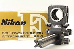 [Top MINT in Box] Nikon Bellows Focusing Attachment PB-6 F mount  From JAPAN