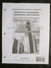 Principles of Foundation Engineering Braja M Das 9th Edition Instructor Manual