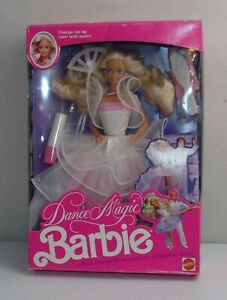 Vintage BARBIE DOLL Boxed 1989 DANCE MAGIC BARBIE